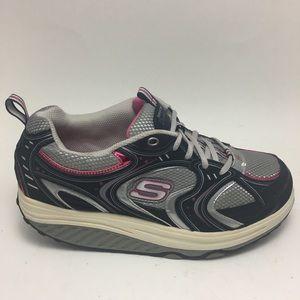 Skechers Shape Ups Fitness  Running Gray pink